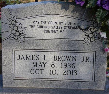 BROWN, JR, JAMES LEAMON - Prentiss County, Mississippi | JAMES LEAMON BROWN, JR - Mississippi Gravestone Photos