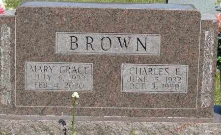 DANIELS BROWN, MARY GRACE - Prentiss County, Mississippi | MARY GRACE DANIELS BROWN - Mississippi Gravestone Photos