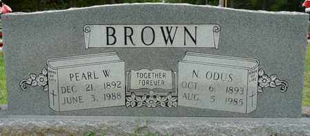 BROWN, PEARL W - Prentiss County, Mississippi | PEARL W BROWN - Mississippi Gravestone Photos