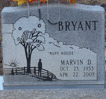 BRYANT, MARVIN D - Prentiss County, Mississippi | MARVIN D BRYANT - Mississippi Gravestone Photos