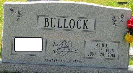 DEATON BULLOCK, ALICE FAYE - Prentiss County, Mississippi | ALICE FAYE DEATON BULLOCK - Mississippi Gravestone Photos