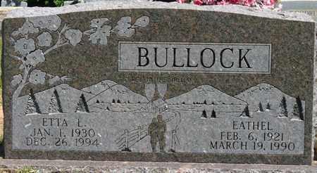 BULLOCK, ETTA L - Prentiss County, Mississippi   ETTA L BULLOCK - Mississippi Gravestone Photos