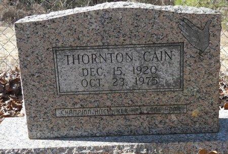 CAIN, THORTON - Prentiss County, Mississippi | THORTON CAIN - Mississippi Gravestone Photos