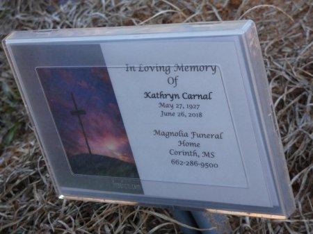 CARNAL, MARY KATHRYN - Prentiss County, Mississippi | MARY KATHRYN CARNAL - Mississippi Gravestone Photos