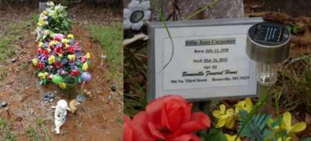 CARPENTER, BILLIE JEAN - Prentiss County, Mississippi   BILLIE JEAN CARPENTER - Mississippi Gravestone Photos