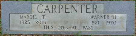 CARPENTER, WARNER H - Prentiss County, Mississippi   WARNER H CARPENTER - Mississippi Gravestone Photos