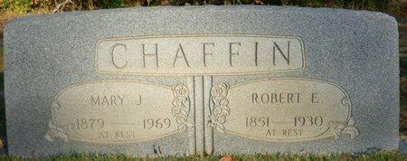 CHAFFIN, ROBERT E - Prentiss County, Mississippi | ROBERT E CHAFFIN - Mississippi Gravestone Photos