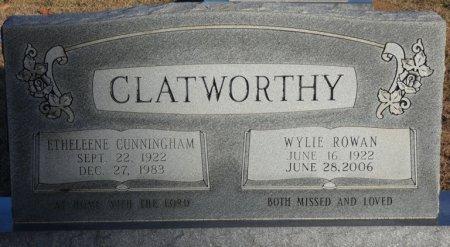 CUNNINGHAM CLATWORTHY, ETHELEENE - Prentiss County, Mississippi | ETHELEENE CUNNINGHAM CLATWORTHY - Mississippi Gravestone Photos