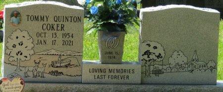COKER, TOMMY QUINTON - Prentiss County, Mississippi   TOMMY QUINTON COKER - Mississippi Gravestone Photos