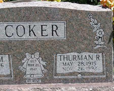 COKER, THURMAN R - Prentiss County, Mississippi | THURMAN R COKER - Mississippi Gravestone Photos