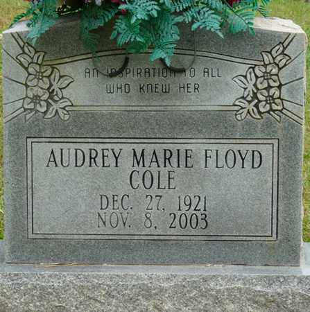 COLE, AUDREY MARIE - Prentiss County, Mississippi   AUDREY MARIE COLE - Mississippi Gravestone Photos