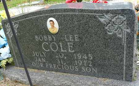 COLE, BOBBY LEE - Prentiss County, Mississippi | BOBBY LEE COLE - Mississippi Gravestone Photos