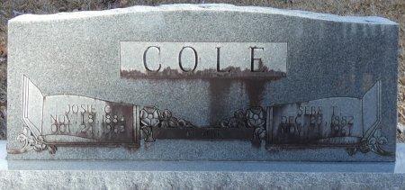 """COLE, JOSEPHINE MELVERDIA """"JOSIE"""" - Prentiss County, Mississippi   JOSEPHINE MELVERDIA """"JOSIE"""" COLE - Mississippi Gravestone Photos"""