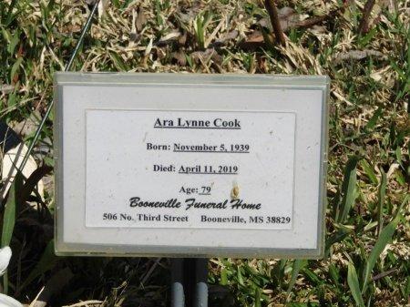 RANDOLPH COOK, ARA LYNNE - Prentiss County, Mississippi | ARA LYNNE RANDOLPH COOK - Mississippi Gravestone Photos
