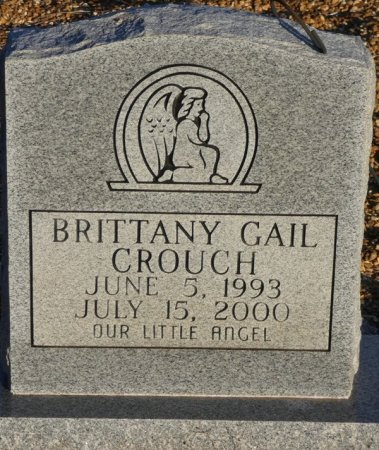 CROUCH, BRITTNEY GAIL - Prentiss County, Mississippi | BRITTNEY GAIL CROUCH - Mississippi Gravestone Photos