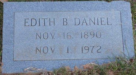 BOONE DANIEL, EDITH - Prentiss County, Mississippi   EDITH BOONE DANIEL - Mississippi Gravestone Photos