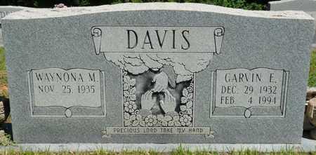 DAVIS, GARVIN EARL - Prentiss County, Mississippi | GARVIN EARL DAVIS - Mississippi Gravestone Photos