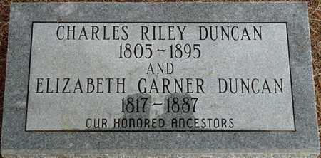GARNER DUNCAN, ELIZABETH - Prentiss County, Mississippi   ELIZABETH GARNER DUNCAN - Mississippi Gravestone Photos