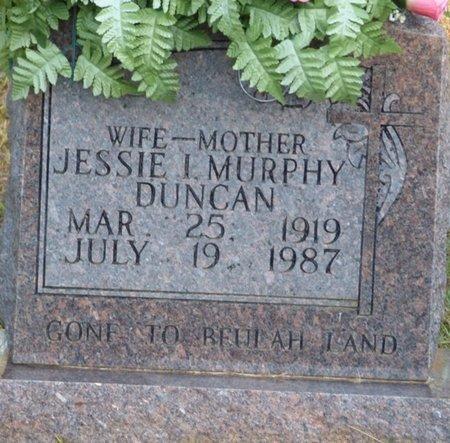 DUNCAN, JESSIE I - Prentiss County, Mississippi | JESSIE I DUNCAN - Mississippi Gravestone Photos