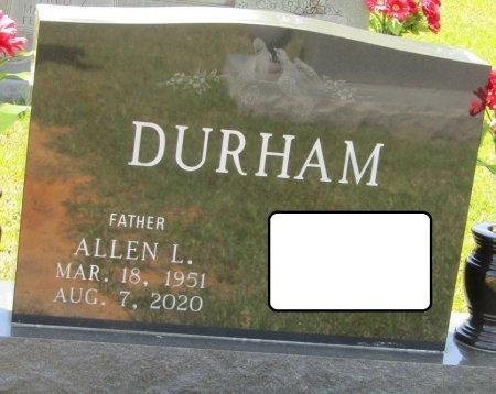 DURHAM, ALLEN LEE - Prentiss County, Mississippi   ALLEN LEE DURHAM - Mississippi Gravestone Photos