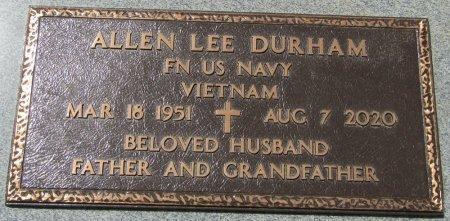 DURHAM (VETERAN VIET), ALLEN LEE (NEW) - Prentiss County, Mississippi | ALLEN LEE (NEW) DURHAM (VETERAN VIET) - Mississippi Gravestone Photos