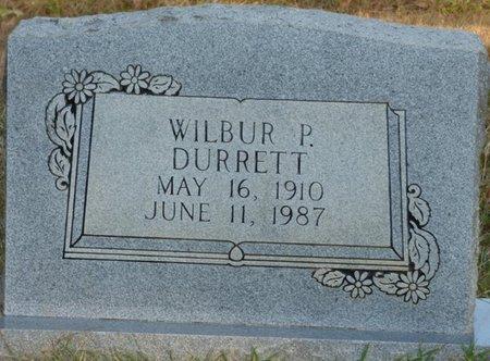 DURRETT, WILBUR P - Prentiss County, Mississippi   WILBUR P DURRETT - Mississippi Gravestone Photos