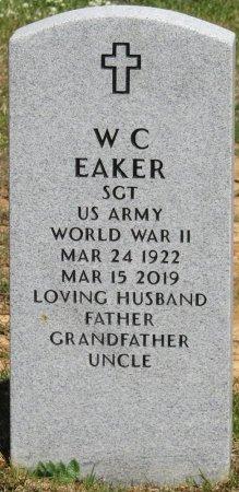 "EAKER (VETERAN WWII), W C ""WILLIE"" (NEW) - Prentiss County, Mississippi   W C ""WILLIE"" (NEW) EAKER (VETERAN WWII) - Mississippi Gravestone Photos"