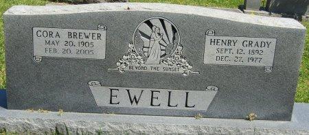 EWELL, CORA - Prentiss County, Mississippi | CORA EWELL - Mississippi Gravestone Photos