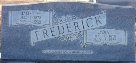 "FREDERICK, JAMES MARION ""JIM"" - Prentiss County, Mississippi 
