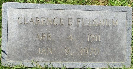 FULGHUM, CLARENCE E - Prentiss County, Mississippi | CLARENCE E FULGHUM - Mississippi Gravestone Photos