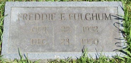 FULGHUM, FREDDIE E - Prentiss County, Mississippi   FREDDIE E FULGHUM - Mississippi Gravestone Photos