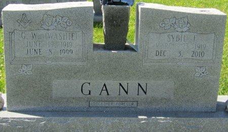 GANN, SYBIL A - Prentiss County, Mississippi   SYBIL A GANN - Mississippi Gravestone Photos