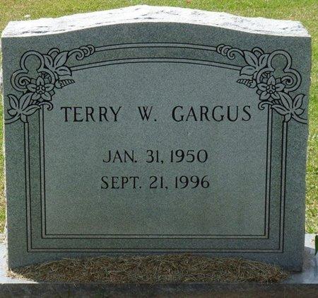 GARGUS, TERRY W - Prentiss County, Mississippi | TERRY W GARGUS - Mississippi Gravestone Photos