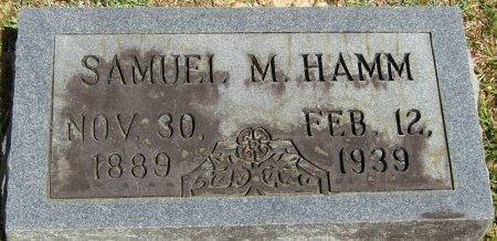 HAMM, SAMUEL M - Prentiss County, Mississippi | SAMUEL M HAMM - Mississippi Gravestone Photos