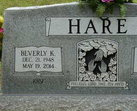 HARE, BEVERLY K - Prentiss County, Mississippi | BEVERLY K HARE - Mississippi Gravestone Photos