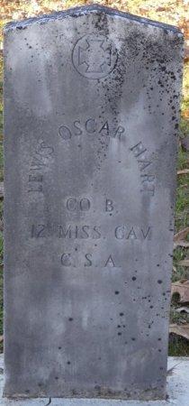 HART (VETERAN CSA), LEWIS OSCAR (NEW) - Prentiss County, Mississippi | LEWIS OSCAR (NEW) HART (VETERAN CSA) - Mississippi Gravestone Photos
