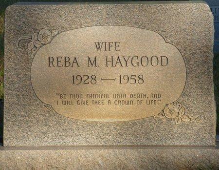 BREEDLOVE HAYGOOD, REBA MAXINE - Prentiss County, Mississippi | REBA MAXINE BREEDLOVE HAYGOOD - Mississippi Gravestone Photos