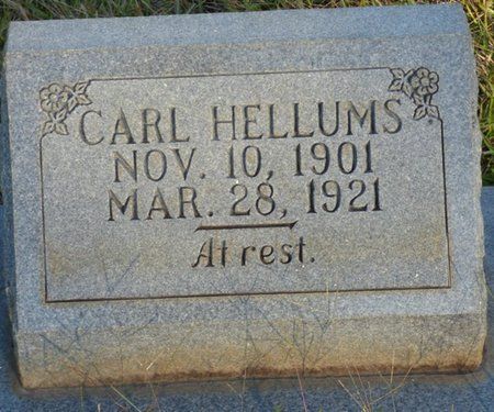 HELLUMS, CARL - Prentiss County, Mississippi | CARL HELLUMS - Mississippi Gravestone Photos