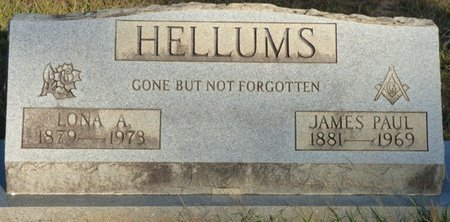 HELLUMS, LONA ALABAMA - Prentiss County, Mississippi | LONA ALABAMA HELLUMS - Mississippi Gravestone Photos