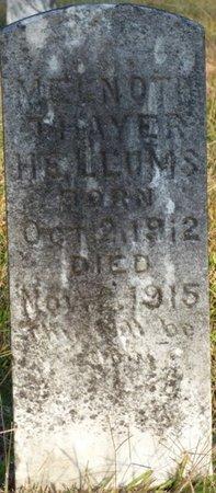 HELLUMS, MELNOTH THAYER - Prentiss County, Mississippi | MELNOTH THAYER HELLUMS - Mississippi Gravestone Photos