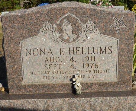 HELLUMS, NONA F - Prentiss County, Mississippi | NONA F HELLUMS - Mississippi Gravestone Photos