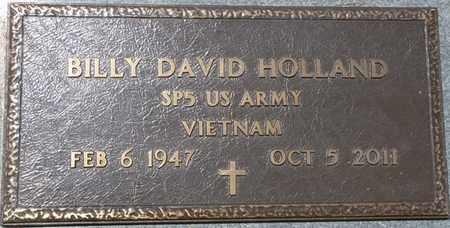 HOLLAND (VETERAN VIETNAM), BILLY DAVID - Prentiss County, Mississippi   BILLY DAVID HOLLAND (VETERAN VIETNAM) - Mississippi Gravestone Photos