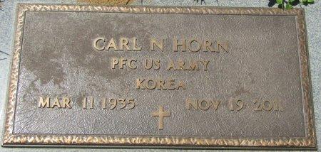HORN (VETERAN KOR), CARL NARCELL (NEW) - Prentiss County, Mississippi | CARL NARCELL (NEW) HORN (VETERAN KOR) - Mississippi Gravestone Photos