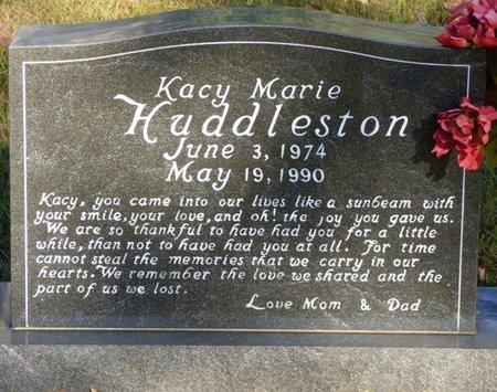 HUDDLESTON, KACY MARIE - Prentiss County, Mississippi   KACY MARIE HUDDLESTON - Mississippi Gravestone Photos