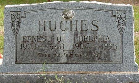 HUGHES, DELPHIA - Prentiss County, Mississippi | DELPHIA HUGHES - Mississippi Gravestone Photos