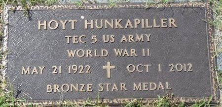 HUNKAPILLER (VETERAN WWII), HOYT - Prentiss County, Mississippi   HOYT HUNKAPILLER (VETERAN WWII) - Mississippi Gravestone Photos