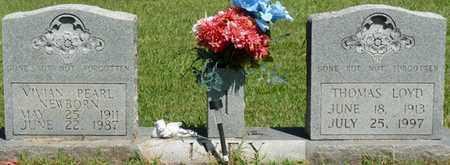 NEWBORN IVEY, VIVIAN PEARL - Prentiss County, Mississippi | VIVIAN PEARL NEWBORN IVEY - Mississippi Gravestone Photos