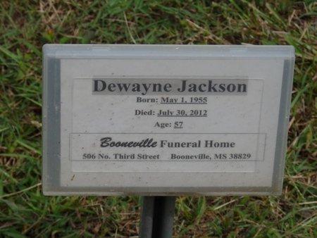 JACKSON, DEWAYNE - Prentiss County, Mississippi | DEWAYNE JACKSON - Mississippi Gravestone Photos