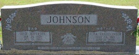 JOHNSON, ZERA - Prentiss County, Mississippi | ZERA JOHNSON - Mississippi Gravestone Photos