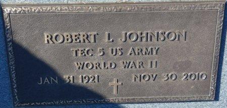 JOHNSON (VETERAN WWII), ROBERT L (NEW) - Prentiss County, Mississippi | ROBERT L (NEW) JOHNSON (VETERAN WWII) - Mississippi Gravestone Photos